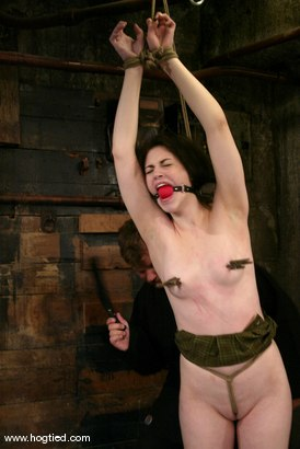 Photo number 5 from Faith Leon shot for Hogtied on Kink.com. Featuring Faith Leon in hardcore BDSM & Fetish porn.