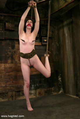 Photo number 6 from Faith Leon shot for Hogtied on Kink.com. Featuring Faith Leon in hardcore BDSM & Fetish porn.