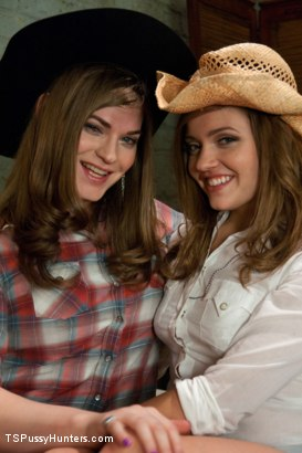 Photo number 1 from Stiff Competition: Ts Tiffany Star Fucks the Living Cow Girl Hell out of A Hot Southern Girl shot for TS Pussy Hunters on Kink.com. Featuring Tiffany Starr and Ashlynn Leigh in hardcore BDSM & Fetish porn.