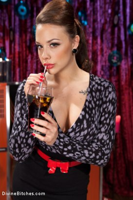 Photo number 1 from A Divinely Humiliating Melodrama shot for Divine Bitches on Kink.com. Featuring Chanel Preston and Parker London in hardcore BDSM & Fetish porn.