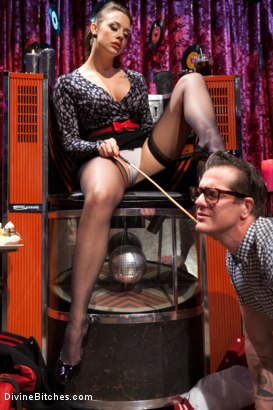 Photo number 2 from A Divinely Humiliating Melodrama shot for Divine Bitches on Kink.com. Featuring Chanel Preston and Parker London in hardcore BDSM & Fetish porn.