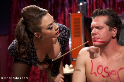 Photo number 3 from A Divinely Humiliating Melodrama shot for Divine Bitches on Kink.com. Featuring Chanel Preston and Parker London in hardcore BDSM & Fetish porn.