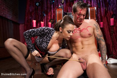 Photo number 4 from A Divinely Humiliating Melodrama shot for Divine Bitches on Kink.com. Featuring Chanel Preston and Parker London in hardcore BDSM & Fetish porn.