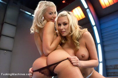 Photo number 1 from Blonds Twins in Bondage MACHINE FUCKED with a Guest Fisting by Princess Donna shot for Fucking Machines on Kink.com. Featuring Katie Summers, Anikka Albrite and Princess Donna Dolore in hardcore BDSM & Fetish porn.