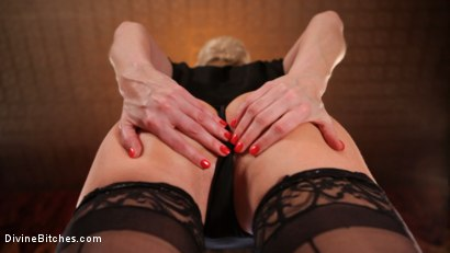 Photo number 1 from Tongue bath to Mistress Ashley Fires POV bonus! shot for Divine Bitches on Kink.com. Featuring Ashley Fires in hardcore BDSM & Fetish porn.