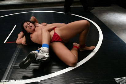 Photo number 4 from The Doll vs Ice shot for Ultimate Surrender on Kink.com. Featuring Janay and Avy Lee Roth in hardcore BDSM & Fetish porn.
