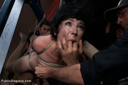 Photo number 9 from Emo Babe Fucked in Public by James Deen shot for Public Disgrace on Kink.com. Featuring Coral Aorta and James Deen in hardcore BDSM & Fetish porn.