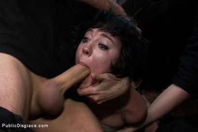 Photo number 10 from Emo Babe Fucked in Public by James Deen shot for Public Disgrace on Kink.com. Featuring Coral Aorta and James Deen in hardcore BDSM & Fetish porn.