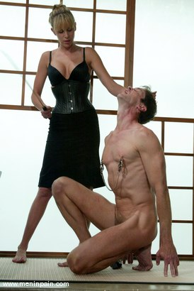 Photo number 6 from Lakko and Audrey Leigh shot for Men In Pain on Kink.com. Featuring Lakko and Audrey Leigh in hardcore BDSM & Fetish porn.