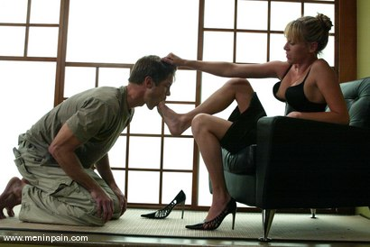 Photo number 1 from Lakko and Audrey Leigh shot for Men In Pain on Kink.com. Featuring Lakko and Audrey Leigh in hardcore BDSM & Fetish porn.