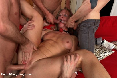 Photo number 11 from Hey Mrs. S: MILFTASTIC FEATURE SHOOT shot for Bound Gang Bangs on Kink.com. Featuring Simone Sonay, Dane Cross, Owen Gray, Danny Wylde, Seth Storm, James Deen and Rob Blu in hardcore BDSM & Fetish porn.