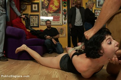 Photo number 5 from First Anal, First Fisting, Tattooed for Life!!!! shot for Public Disgrace on Kink.com. Featuring Mr. Pete and Coral Aorta in hardcore BDSM & Fetish porn.