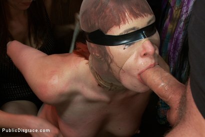 Photo number 11 from Redheaded Slut Ass Fucked at Crowded Party shot for Public Disgrace on Kink.com. Featuring Odile and Mark Davis in hardcore BDSM & Fetish porn.