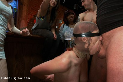 Photo number 12 from Redheaded Slut Ass Fucked at Crowded Party shot for Public Disgrace on Kink.com. Featuring Odile and Mark Davis in hardcore BDSM & Fetish porn.