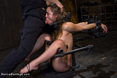 Photo number 6 from Kristina Rose - Filthy Whore - Live Show Part 3 shot for Device Bondage on Kink.com. Featuring Kristina Rose and Isis Love in hardcore BDSM & Fetish porn.