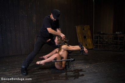 Photo number 7 from Kristina Rose - Filthy Whore - Live Show Part 3 shot for Device Bondage on Kink.com. Featuring Kristina Rose and Isis Love in hardcore BDSM & Fetish porn.