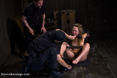 Photo number 11 from Kristina Rose - Filthy Whore - Live Show Part 3 shot for Device Bondage on Kink.com. Featuring Kristina Rose and Isis Love in hardcore BDSM & Fetish porn.