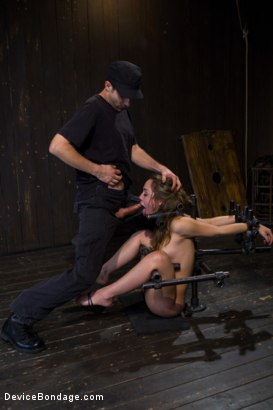 Photo number 16 from Kristina Rose - Filthy Whore - Live Show Part 3 shot for Device Bondage on Kink.com. Featuring Kristina Rose and Isis Love in hardcore BDSM & Fetish porn.