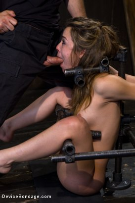 Photo number 5 from Kristina Rose - Filthy Whore - Live Show Part 3 shot for Device Bondage on Kink.com. Featuring Kristina Rose and Isis Love in hardcore BDSM & Fetish porn.