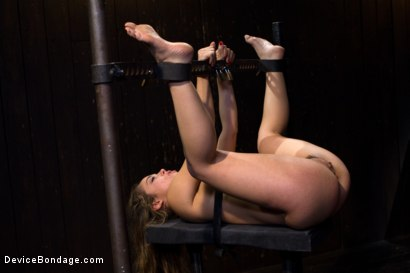 Photo number 5 from Kristina Rose - Filthy Whore - Live Show Part 4 shot for Device Bondage on Kink.com. Featuring Kristina Rose and Isis Love in hardcore BDSM & Fetish porn.