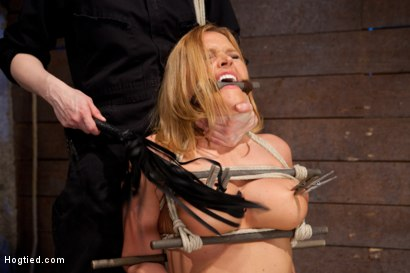 Photo number 15 from Krissy Lynn gets the fuck of her dreams.... shot for Hogtied on Kink.com. Featuring Krissy Lynn in hardcore BDSM & Fetish porn.