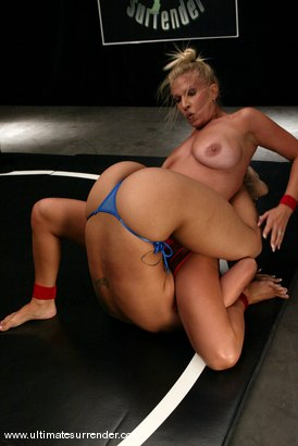 Photo number 5 from The Dragon UNDEFEATED (4-0) vs: Xana Star. shot for Ultimate Surrender on Kink.com. Featuring DragonLily and Xana Star in hardcore BDSM & Fetish porn.