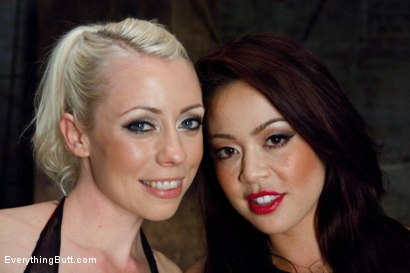 Photo number 15 from Anal Sluts: Mia Lelani and Lorelei shot for Everything Butt on Kink.com. Featuring Mia Lelani, Lorelei Lee and Mark Wood in hardcore BDSM & Fetish porn.