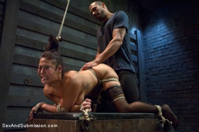 Photo number 9 from Punished Masseuse shot for Sex And Submission on Kink.com. Featuring London Keyes and Karlo Karrera in hardcore BDSM & Fetish porn.