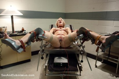 Photo number 7 from Sadistic Therapy: Delusional Patient gets Harsh Sexual Treatment  shot for Sex And Submission on Kink.com. Featuring Ash Hollywood and James Deen in hardcore BDSM & Fetish porn.