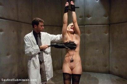 Photo number 2 from Sadistic Therapy: Delusional Patient gets Harsh Sexual Treatment  shot for Sex And Submission on Kink.com. Featuring Ash Hollywood and James Deen in hardcore BDSM & Fetish porn.
