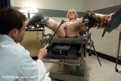 Photo number 8 from Sadistic Therapy: Delusional Patient gets Harsh Sexual Treatment  shot for Sex And Submission on Kink.com. Featuring Ash Hollywood and James Deen in hardcore BDSM & Fetish porn.