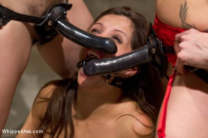 Photo number 8 from Doctor Francesca Le is Double Penetrated! shot for Whipped Ass on Kink.com. Featuring Francesca Le , Lorelei Lee and Bobbi Starr in hardcore BDSM & Fetish porn.