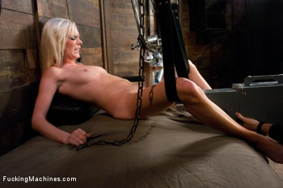 Photo number 3 from Her Pussy is No Contest: Taking The 20yr Old Places She has NEVER BEEN shot for Fucking Machines on Kink.com. Featuring Elaina Raye in hardcore BDSM & Fetish porn.