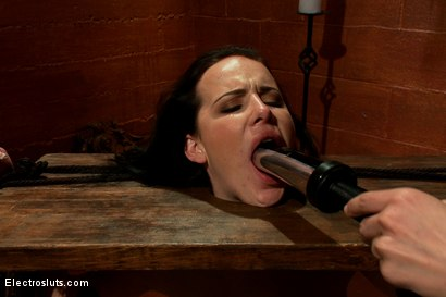Photo number 5 from Katie St. Ives, Bound Tight and Shocked! shot for Electro Sluts on Kink.com. Featuring Katie St. Ives and Bobbi Starr in hardcore BDSM & Fetish porn.