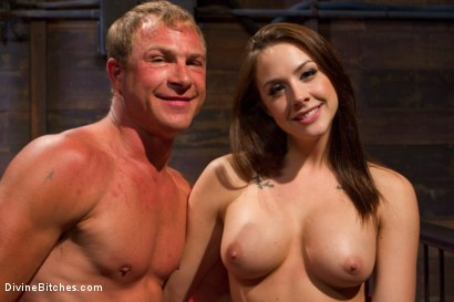 Photo number 6 from A Divine Introduction shot for Divine Bitches on Kink.com. Featuring Troy Halston and Chanel Preston in hardcore BDSM & Fetish porn.