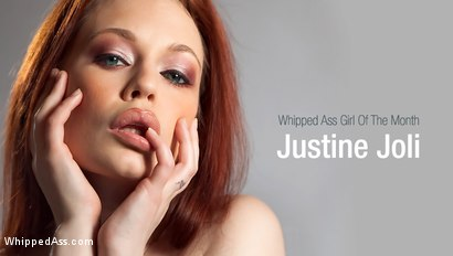 Justine Joli: Whipped Ass Girl Of The Month!
