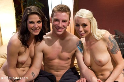 Photo number 9 from Cuckold Surprise! shot for Divine Bitches on Kink.com. Featuring Lorelei Lee, Bobbi Starr, Shaun Diesel and Sebastian Keys in hardcore BDSM & Fetish porn.