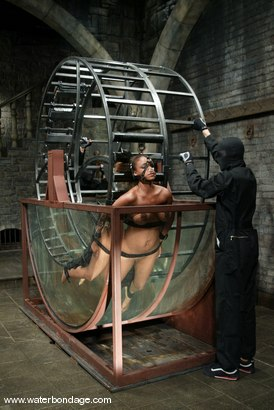 Photo number 2 from Sinnamon Love and Sgt. Major shot for Water Bondage on Kink.com. Featuring Sinnamon Love and Sgt. Major in hardcore BDSM & Fetish porn.