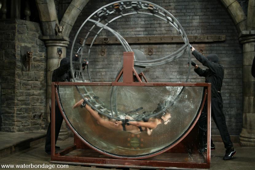 Water wheel bondage
