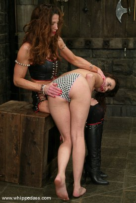 Photo number 4 from Maya Matthews and Kym Wilde shot for Whipped Ass on Kink.com. Featuring Maya Matthews and Kym Wilde in hardcore BDSM & Fetish porn.