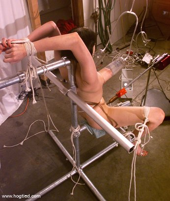 Photo number 9 from Lily shot for Hogtied on Kink.com. Featuring Lily in hardcore BDSM & Fetish porn.