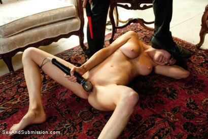 "Photo number 4 from ""Spy vs Spy: The Medvedenko Affair""  A Feature Presentation shot for Sex And Submission on Kink.com. Featuring Princess Donna Dolore and James Deen in hardcore BDSM & Fetish porn."