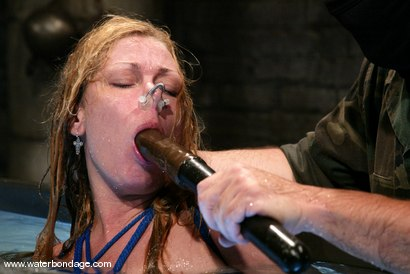 Photo number 14 from Trina and Sgt. Major shot for Water Bondage on Kink.com. Featuring Trina and Sgt. Major in hardcore BDSM & Fetish porn.