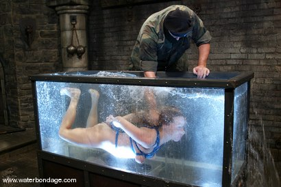 Photo number 15 from Trina and Sgt. Major shot for Water Bondage on Kink.com. Featuring Trina and Sgt. Major in hardcore BDSM & Fetish porn.