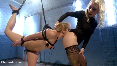 Photo number 2 from Eager to Please shot for Electro Sluts on Kink.com. Featuring Lea Lexis and Lorelei Lee in hardcore BDSM & Fetish porn.