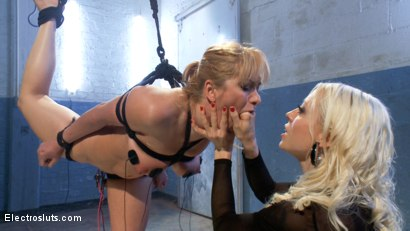 Photo number 13 from Eager to Please shot for Electro Sluts on Kink.com. Featuring Lea Lexis and Lorelei Lee in hardcore BDSM & Fetish porn.