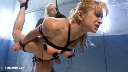 Photo number 8 from Eager to Please shot for Electro Sluts on Kink.com. Featuring Lea Lexis and Lorelei Lee in hardcore BDSM & Fetish porn.