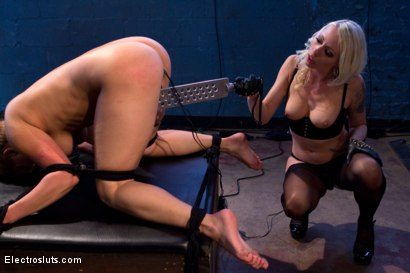 Photo number 8 from Electro Anal Exploration shot for Electro Sluts on Kink.com. Featuring Lea Lexis and Lorelei Lee in hardcore BDSM & Fetish porn.
