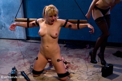 Photo number 4 from Inescapable Copper Breaks Lea Lexis shot for Electro Sluts on Kink.com. Featuring Lea Lexis and Lorelei Lee in hardcore BDSM & Fetish porn.