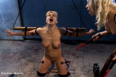 Photo number 7 from Inescapable Copper Breaks Lea Lexis shot for Electro Sluts on Kink.com. Featuring Lea Lexis and Lorelei Lee in hardcore BDSM & Fetish porn.